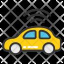 Vehicle Tracking System Icon