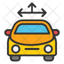 Vehicle Tracking System Icon