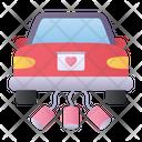 Vehicle Weeding Car Transportation Icon