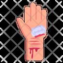 Suicide Attempt Vein Cut Wrist Cut Icon