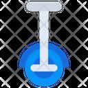 Wheel Unicycle Rotation Wheel Icon