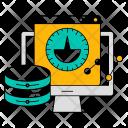 Velocity Technology Data Icon