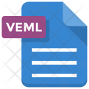 Veml File Document Icon