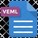 Veml File Sheet Icon