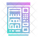 Snacks Vending Machine Icon