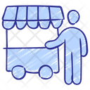 Market Shopping Vendor Icon