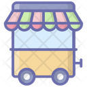 Vendor Cart Ice Cream Vendor Street Vendor Icon