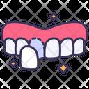 Teeth Veneers Beauty Icon