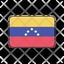 Venezuela Flag Country Icon