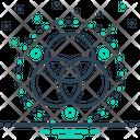 Runes Symbole Circle Icon