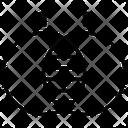 Venn Diagram Diagram Stacked Icon