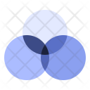 Venn Diagram Subset Icon