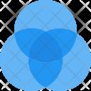 Venn Diagram Infographic Icon