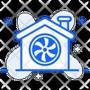 Ventilation System Exhaust Air Ventilation Icon
