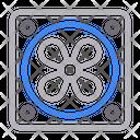 Ventilator Fan Cooling Icon