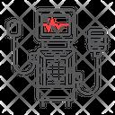 Medical Ventilator Breathing Icon