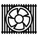 Ventilator Fan Icon