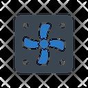 Ventilator Coolingfan Exhaust Icon