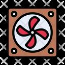 Coolingfan Ventilator Cpufan Icon