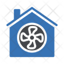Fan Home Cooling Icon