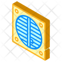 Ventilation Repair Isometric Icon