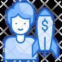 Venture Capital Business Icon