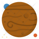 Venus Planet Space Icon
