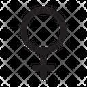 Venus Astrology Symbol Icon