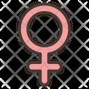 Venus Star Zodiac Icon