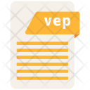 Vep File Format Icon