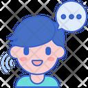 Verbal Communication Icon