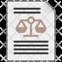 Verdict Law Justice Icon