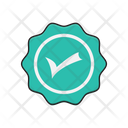 Verified Sticker Complete Icon