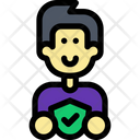 Verified Safe Protection Icon