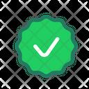 Verified Verification Authentication Icon