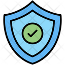 Verified Protection Shield Icon