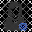 Verified Account User Profile Icon