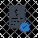 Bill Report Receipt Icon