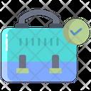Verified Briefcase Icon