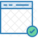 Safe Browser Verified Browser Protected Icon