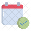 Verified Calender Icon