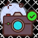 Verified Camera Icon