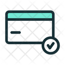 Verified Card Check Icon