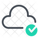 Done Cloud Network Icon