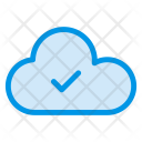 Cloud Check Computing Icon