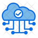 Verified Cloud Network Icon