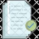 Artboard Verified Content Verified Pages Icon