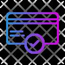 Verified Creditcard Icon