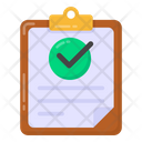 Approved Paper Verified Document Approved Document Icon