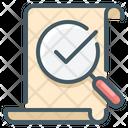 Verified Document Verified File Listing Icon